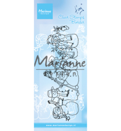 Marianne D  TC0869 - Tiny's border – snowmen