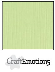 CraftEmotions linnenkarton - kiwi LHC-21 A4 250gr