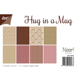Noor! Design 6011/0543 - Papierset - Hug in a Mug
