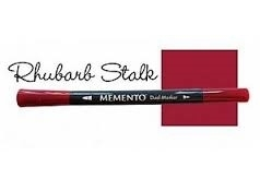 Memento marker Rhubarb stalk
