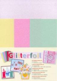 Glitter foil everyday assorti 5 VL