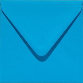Papicolor Envelop vierk. 14cm hemelsblauw 105gr-CV 6 st 303949 - 140x140 mm