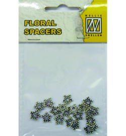 Nellie`s Choice - FLP-SP-003 - Floral Spacers - silver nr. 3