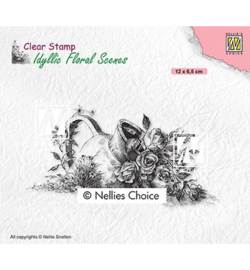 Nellie`s Choice - IFS034 - Vase with roses