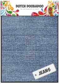 Dutch Doobadoo Jeans blauw - light sheets (2 vel) A5