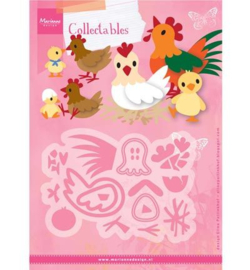 Marianne D Collectable Eline`s chicken family COL1429