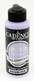 Cadence Hybride acrylverf (semi mat) Light mauve 01 001 0032 0120 120 ml
