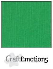 CraftEmotions linnenkarton grasgroen 30,5x30,5cm