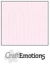 CraftEmotions linnenkarton babyroze 30,5x30,5cm