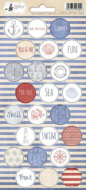 Piatek13 - Sticker sheet Off Shore II 03 P13-303 10,5x23 cm