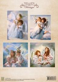 Nellie`s Choice Dec. knipvel angel friends