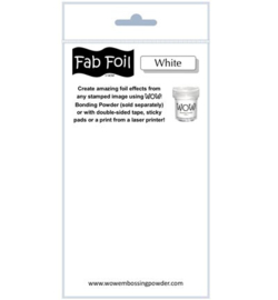 Fabulous Foil - White