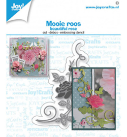 Joy! Crafts - 6002/1502 - Mooi roos