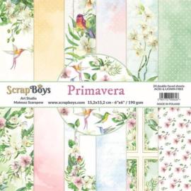 ScrapBoys - Primavera 6x6 Inch Paper Pad