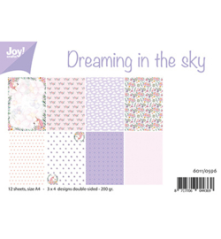Joy! Crafts - 6011/0596 - Papierset - Dreaming in the sky