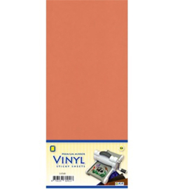 Vinyl sheets - 3.0559 - Mirror Vinyl, Salmon