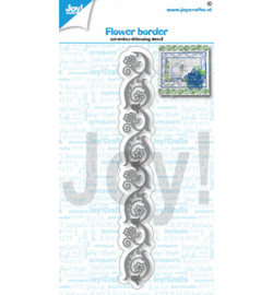 Joy! Crafts - 6002/1436 - Bloemen rand
