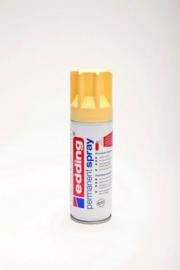 Edding 5200 permanent spray mat pastelgeel (200ml)