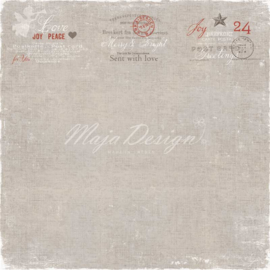 Maja Design - A gift for you - 12 x 12 Double Sided Paper - Sent with love