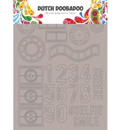 Dutch Doobadoo - 492.006.004 - DDBD Greyboard Art Filmstrip