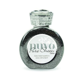 Nuvo Pure sheen glitter - steel grey 722N