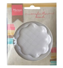 Marianne D LR0012 - Acrylic stamp bloc (small)