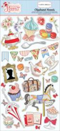 Carta Bella Practically Perfect 6x13 Inch Chipboard Accents