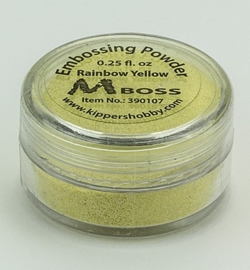Embossing powder - Rainbow Yellow