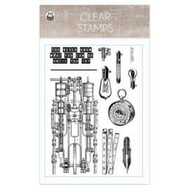 Piatek13 - Clear stamp set Free Spirit 01 P13-FRE-30