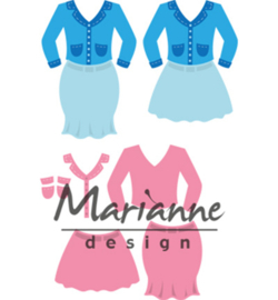 Marianne D Collectable COL1453 - Lady's suit