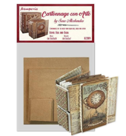 Stamperia Royal Box and Book Kit (KCS004)