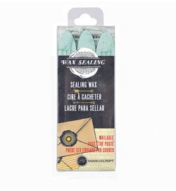 MSH7633AQU - Aqua - Sealing Wax with Wick