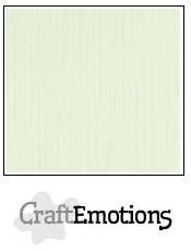 CraftEmotions linnenkarton licht groen 27x13,5cm 250gr