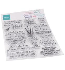 Marianne D - CS1071 - Clear Stamps - Creatieve groetjes