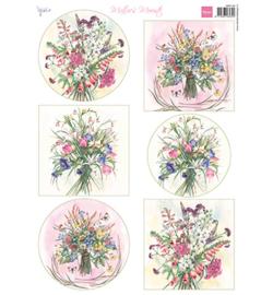 Marianne D Knipvel MB0192 - Mattie's Mooiste - Field Bouquets