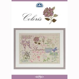 DMC Coloris kruissteek boekje - Flowers