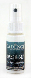 Cadence shake & gilt liquid gilt spray Goud 01 074 0001 0025 25 ml