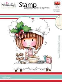 Polkadoodles - Stamp - Winnie Gingerbread