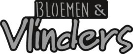 Marianne D Craftable Bloemen & Vlinders CR1313