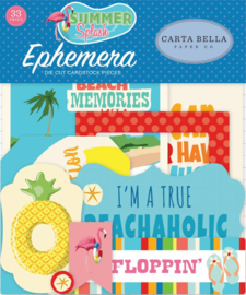 Carta Bella Summer Splash Ephemera