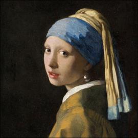 Servetten Girl With The Pearl Earring / meisje met de parel(20 stuks)