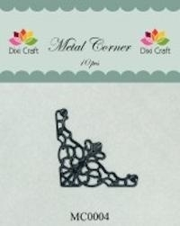 Dixi Craft Metal Corner 35x35 mm zwart - MC0004