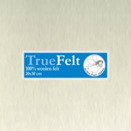 De Witte Engel - Vilt 1,2 mm - Roomwit 500 (incl. bijpassend garen)