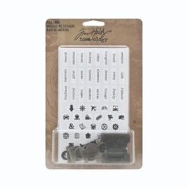 Tim Holtz Idea-Ology Metal File Tabs