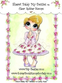 My-Besties Carley Rose Clear Rubber Stamp