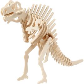 Spinosaurus - 3D Hout constructieset met APP
