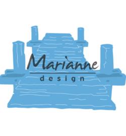 Marianne D Creatables LR0597 - Tiny's beach jetty