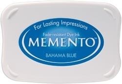 Memento inktkussen Bahama blue
