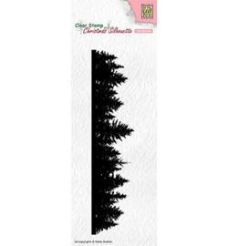 Nellie`s Choice CSIL005 - Pine tree border
