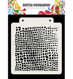 Dutch Doobadoo - 470.715.156 - Dutch Mask Crocodile